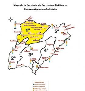 corrientes jurisdição 280x300 - Corrientes