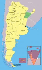 mapa corrientes 182x300 - Corrientes
