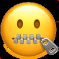 zioer boca emoji 1F910 - Especial