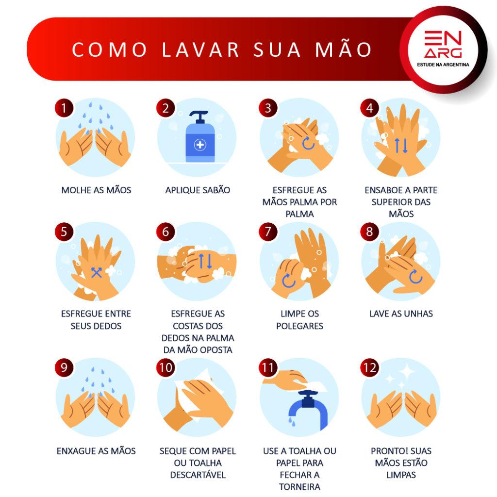 LAVAR AS MÃOS ENARG Mesa de trabajo 1 1024x1024 - Como lavar as mãos corretamente