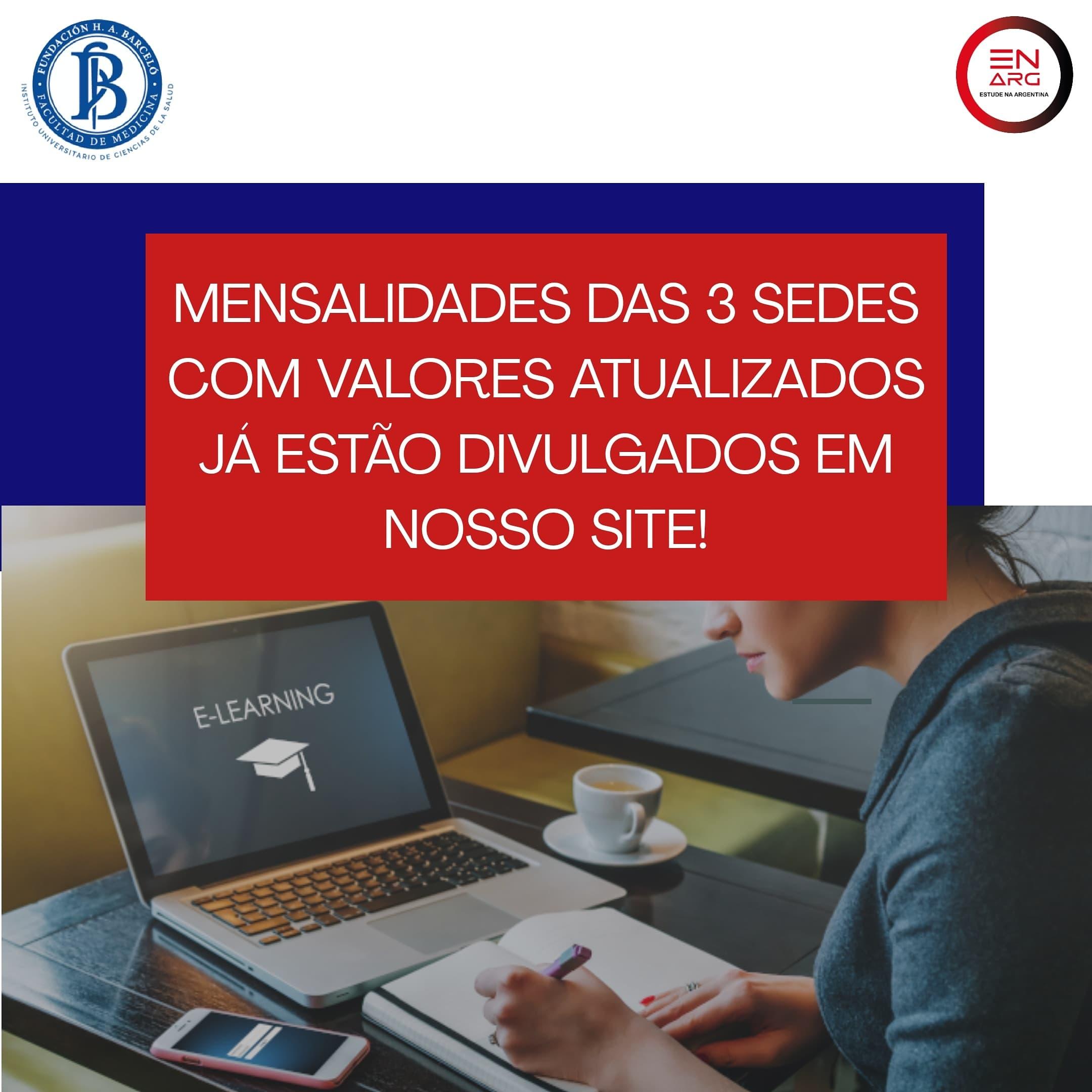 ingresso barcelo 2021 enarg - NOVAS MENSALIDADES FUNDACIÓN HÉCTOR A. BARCELÓ JANEIRO 2021